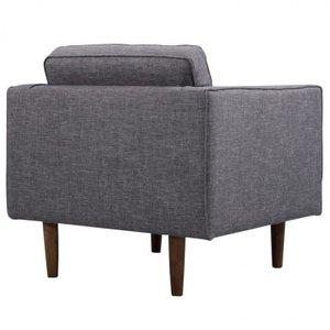 Achernar Mid-Century Modern Chair Gray