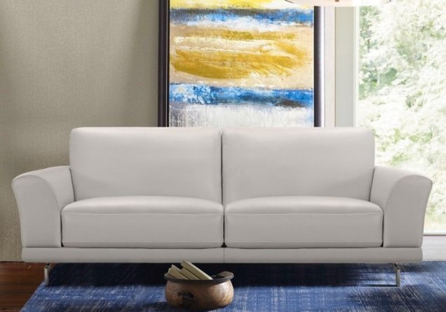 Indus Contemporary Sofa Dove Gray