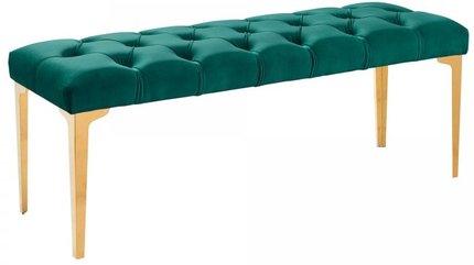 Banas Contemporary Bench Green