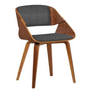 Lena Mid-Century Dining Chair Blue