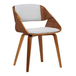 Lena Mid-Century Dining Chair Gray