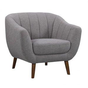 Purus Mid-Century Contemporary Chair Light Gray
