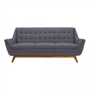 Niger Mid-Century Sofa Gray