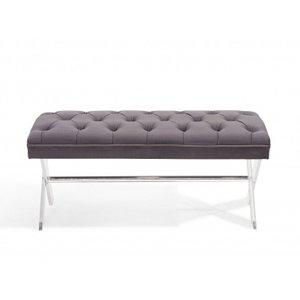 Orinoco Ottoman Bench Gray