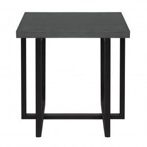 Puncak Contemporary End Table Gray