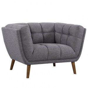 Pisces Mid-Century Modern Chair Dark Gray