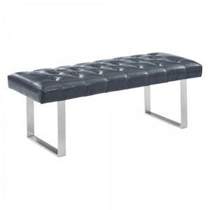 Arlene Contemporary Bench Gray