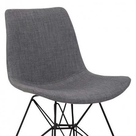 Bret Contemporary Dining Chair Charcoal In Sf Chairs