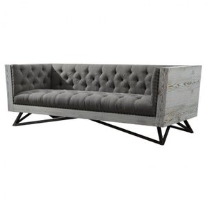 Alberto Contemporary Sofa Gray