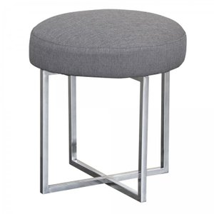 Florence Contemporary Ottoman Gray