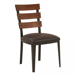 Gordon Contemporary Dining Chair In Auburn Bay