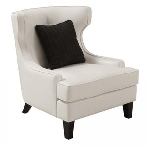 Nadine Skyline Chair In White