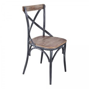 Andrea Sloan Industrial Dining Chair Industrial Gray