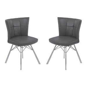 Imelda Contemporary Dining Chair Vintage Gray