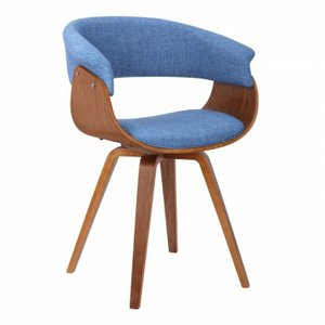 Josephine Mid-Century Chair Blue