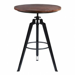 Larry Pub Table  Industrial Gray