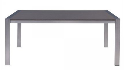 Odette Contemporary Dining Table Gray