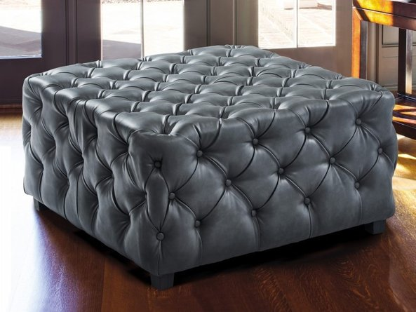 Peter Contemporary Ottoman Gray