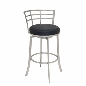 "Richard 30"" Barstool Black"