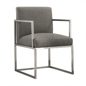 Sagittarius Contemporary Dining Chair Gray