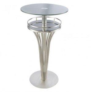 Scutum Contemporary Bar Table Glass