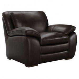 Serpens Contemporary Chair Dark Brown