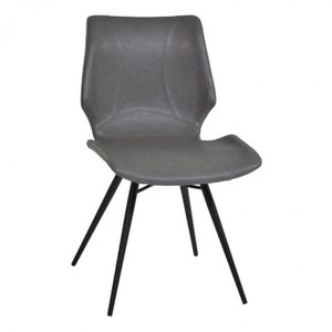 Dubai Dining Chair in Vintage Gray