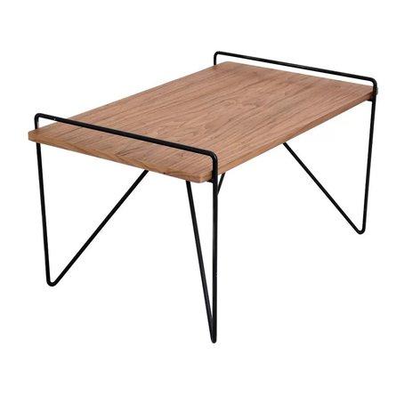 Kathleen Coffee Table Walnut Wood