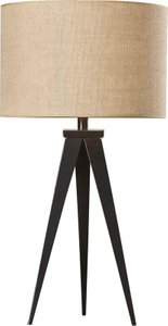 "Caph 29"" Tripod Table Lamp Bronze"