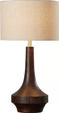 "Sandy 26"" Table Lamp Brown"