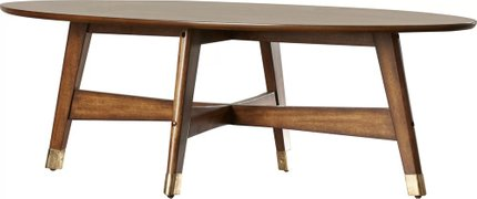 Raine Coffee Table Light Walnut