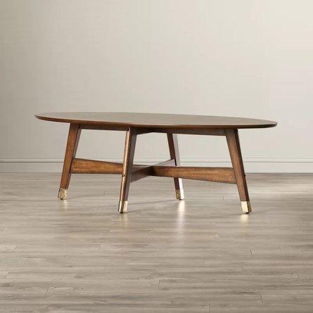 Raine Coffee Table Light Walnut