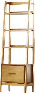 Easmor Ladder Bookcase Acorn