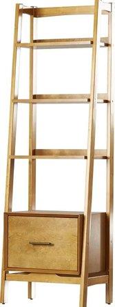 Easmor Ladder Bookcase Acorn