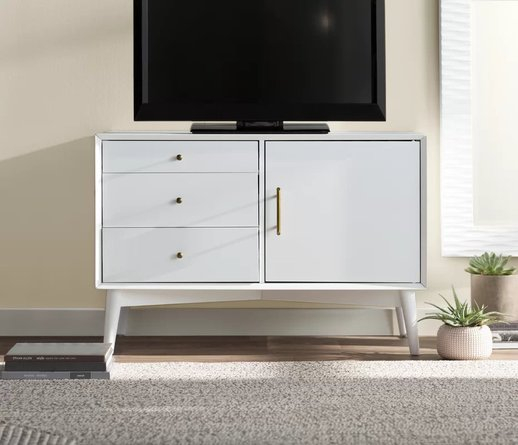 "Colin TV Stand for TVs up to 40"" White"