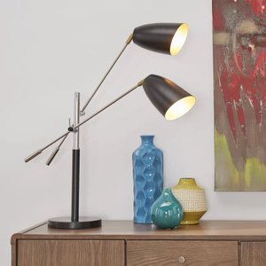 "Joliet 32"" Desk Lamp Black"
