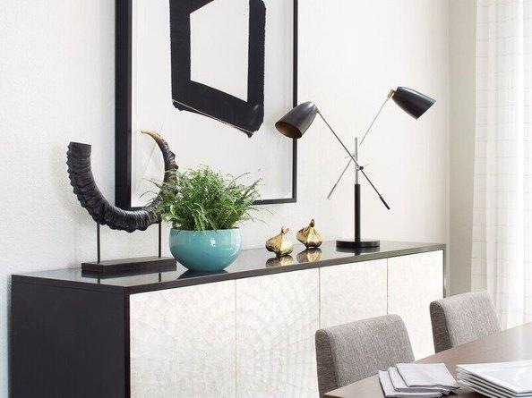 """Joliet 32"""" Desk Lamp Black"""