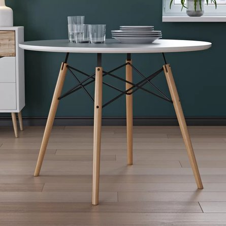 Walsob Dining Table White