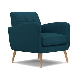 Thomas Armchair Peacock Blue