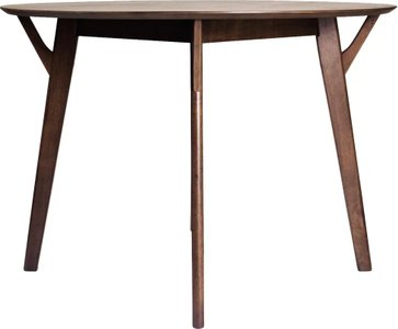 Furud Round Dining Table Walnut