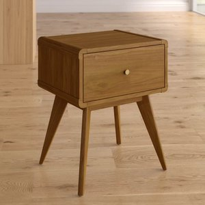 Castor 1 Drawer Nightstand