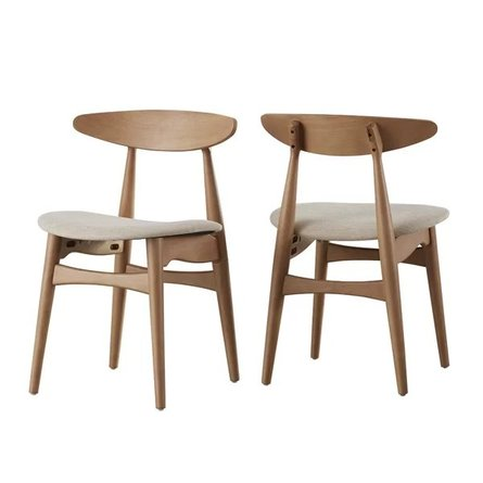 Camden Side Chair Natural (Set of 2)