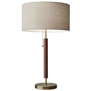 "Hyannis 26.25"" Table Lamp Walnut"