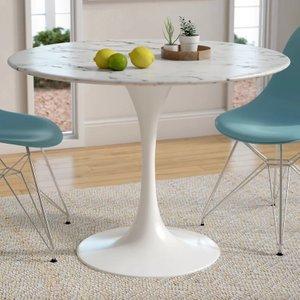 Julien Dining Table White