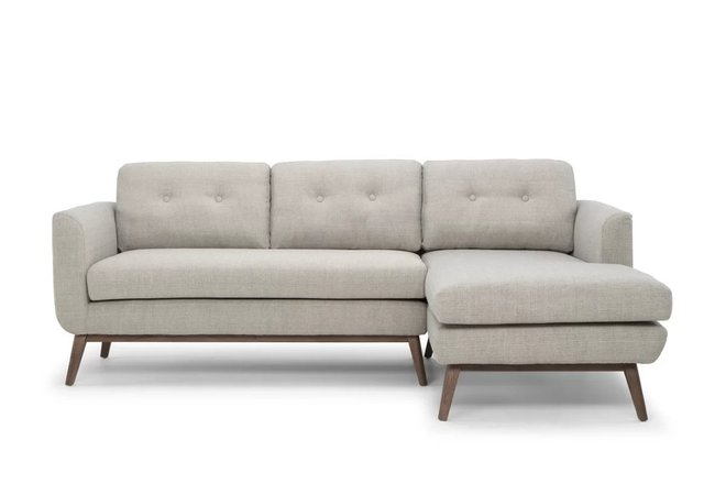 Hewam Sectional LHF Gray