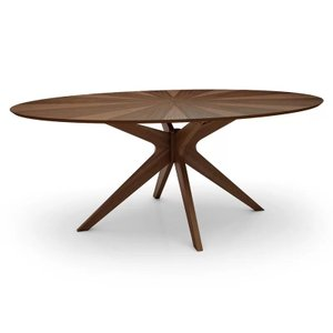 Sheryl Dining Table Walnut