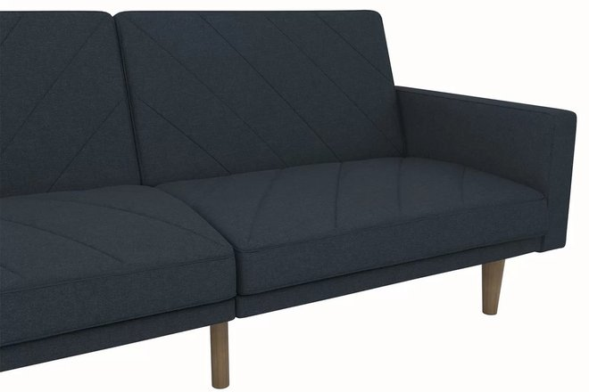 hawkins sleeper sofa navy blue in sf sleeper sofas casaone. Black Bedroom Furniture Sets. Home Design Ideas