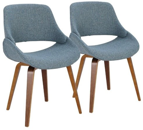 Acton Dining Chair Blue (Set of 2)