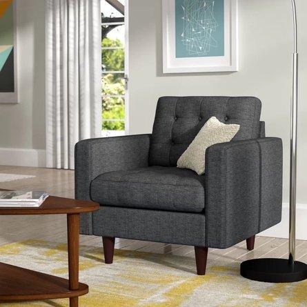 Hazelden Armchair Gray