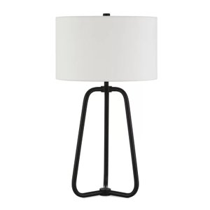 "Jiles 26"" Table Lamp Blackened Bronze"